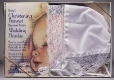 Christening Bonnet and Wedding Hanky