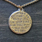 Proverbs Scripture Medallion