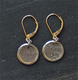 Proverbs 3:5 Earrings