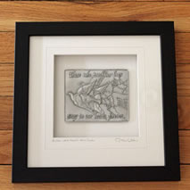 Remembrance Pewter Fraed Wall Art