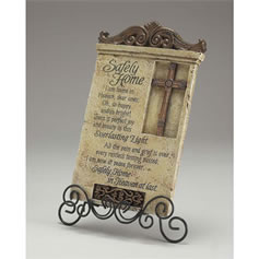Safely Home Resin Desk Plaque - Sympathy Gift