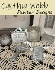 Cynthia Webb Pewter Designs