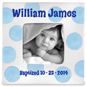 Personalized Photo Frame for Baby