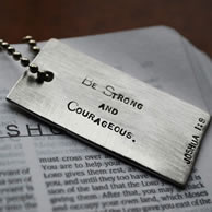 Scripture Dog Tag