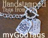 Sterling Silver Personalized GodTags
